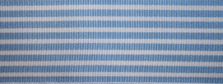 Baby Blue & White Strip