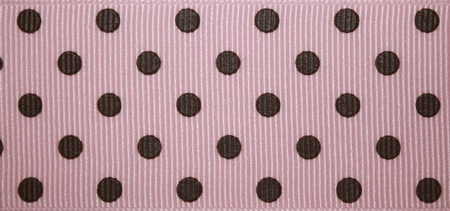 Pink & Chocolate Mini Dot