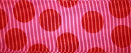 Pink & red Jumbo Dot