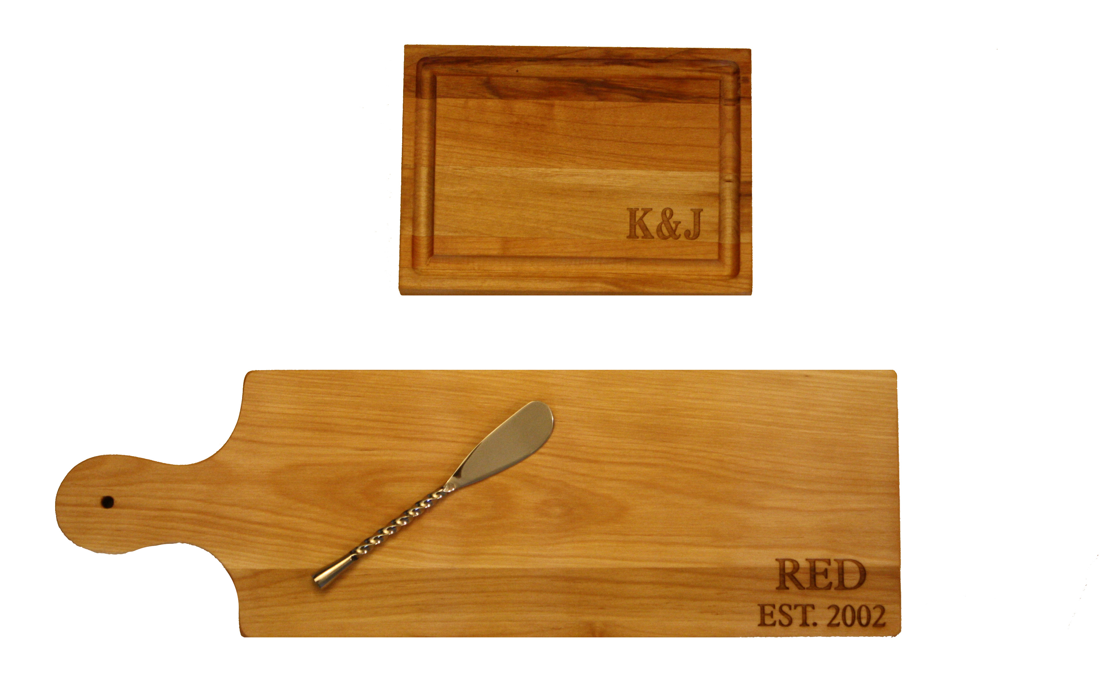 new  personalized cheese board